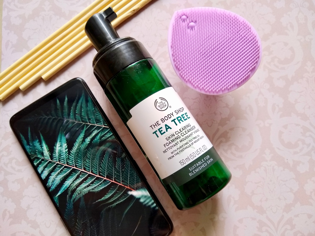 The Body Shop-Tea Tree-Skin Clearing Foaming Cleanser- Review – MY Loaded  Cargo